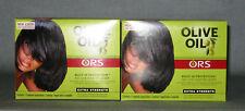 2 x ORGANIC ROOT STIMULATOR Olive Oil Relaxer (Super) - Glättungscreme für Haare