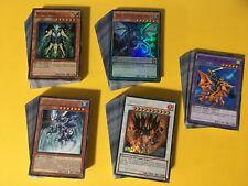 Yu-gi-oh 200+ cards Collection including 4 Decks * Mint * Yu-gi-oh
