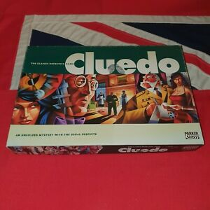 Cluedo The Classic Detective Board Game COMPLETE Parker Brothers Miniatures 2003