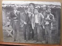 Vintage Poster butch cassidy and the sundance kid movie Paul Newman Inv#312