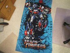 "Transformers Revenge of the Fallen  Beach Towel 56"" x 29"""