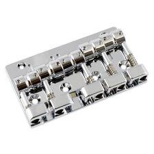 NEW Gotoh J510SJ-5 Quick Release 5-Strings Bass Bridge - CHROME