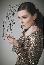 LISA STANSFIELD - personally signed 12x8