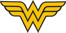 "Patch - Wonder Woman Logo Superhero DC Comics HUGE 11.88"" Back Iron On #57021"