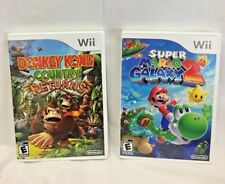 Nintendo Wii Games, Super Mario Galaxy 2, Donkey Kong Country Returns