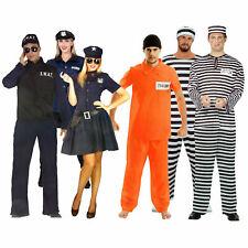 US-Sträfling Polizei Polizistin SWAT Tattoo Armstulpen Karneval Kostüm Halloween