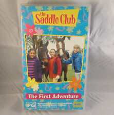 ABC Kids - The Saddle Club - The First Adventure - Video Cassette VHS