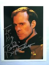 Star Trek Dwight Schultz Signed 8x10 photo autograph