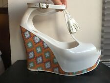 Melissa Shoes Peace Helly Wedge BNIB Size 6