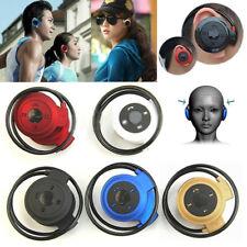 Mini 503 Wireless Bluetooth Headset Headphone Stereo Earphone With Micro SD Slot