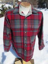 Vintage Plaid Pendleton Woolen Shirt Medium - Comfortable Button Down