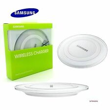 Genuine SAMSUNG GALAXY S7 & S6 EDGE QI WIRELESS CHARGER CHARGING PAD PLATE WHITE