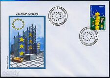2000 Children Building Star Tower,European Union,EUROPA,Enfants,Romania,5487,FDC