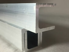 ALUMINIUM CHANNELS ALLOYS METAL SECTION METALWORKING  U SECTION