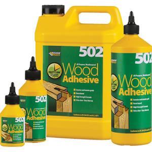 Everbuild Wood Glue Adhesive - All Purpose Waterproof PVA Wood High Strength 502