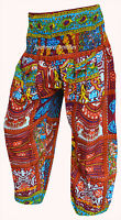 INDIAN BAGGY GYPSY HAREM PANTS YOGA MEN WOMEN BOHEMIAN ALIBABA TROUSERS 82