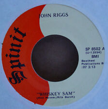 "John Riggs - Whiskey Sam 7"""