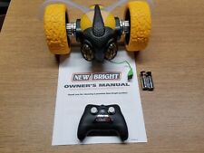 """New Bright Rc Stunt 10"""" Inch Tumblebee Yellow - Parts or Not Working"""