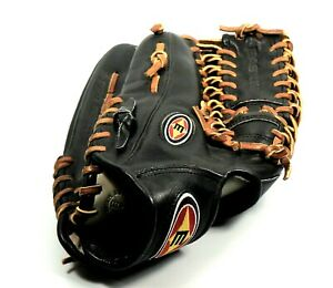 Men's EASTON Professional Classic Black Leather Baseball Glove