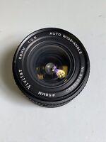 Vivitar 28mm Lens F2.5 Fast Wide Angle Minolta SR Mount