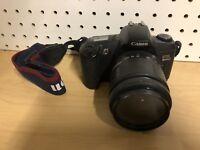 Canon EOS Rebel G 35mm Film Camera w/ Tamron Aspherical AF 28-80mm Lens & Strap