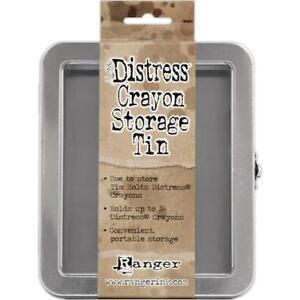 Tim Holtz Distress Crayons Storage Tin - Holds 34 TDA56485
