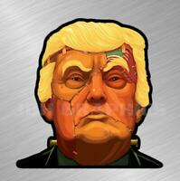 Frankenstein Trump Vinyl Decal Sticker Car Truck MAGA Wall 2020 President Gun