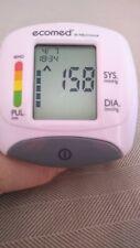 Ecomed Blood Pressure Monitor Wrist BW-82E