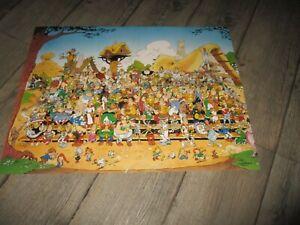 Astérix & Obélix-Affiche couleur, calendrier 2005- 52 cm x 40 cm-2004