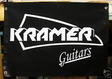 KRAMER GUITARS BANNER LARGE 3' X 2' kramer rocks