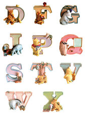 Pooh Letters Collectible