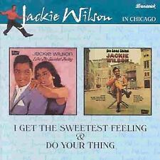 I Get the Sweetest Feeling/Do Your Thing by Jackie Wilson (CD, Mar-1999, Diablo