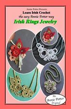 Crochet  Irish Rings Jewelry crochet jewelry pattern by Annie Potter
