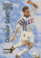 N°090 CHRISTOPHE COCARD # FRANCE AJ.AUXERRE CARD CARTE PANINI FOOT 1995 PREMIUM