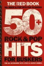 Rock & Pop Hits For Buskers Learn to Play Keyboard Guitar Chords Music Book