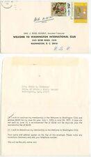1976 Kuala Lumpur Malaysia cover to Wash DC - Mrs Edwin Brubaker Dept of State