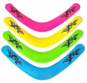 Neon Colour Boomerang 40cm Outdoor Fun Kids Toy X Random Sent