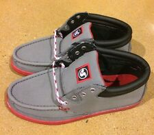 DVS Hunt Grey Gunny Size 9.5 BMX DC Skate Deck Boat Shoes $78 Box Price