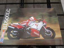 Yamaha RD500 RD500LC 1984 sell brochure