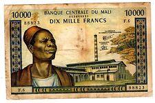 MALI Billet 10000 Francs ND 1970 - 1984 P15 HOMME AVEC FEZ  WEAVER F.6  BON ETAT