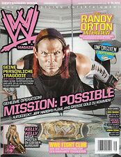 WWE Magazine (World de catch Entertainment): WWE Fight Club & Kelly Kelly Poster