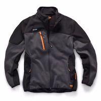 Scruffs Trade Tech Softshell Charcoal Jacket (S-XXL) Mens Technical Work  Coat 2142bff9233f