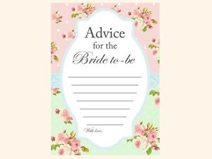 Print Yourself Phone Game, Advice, Phrase Game, Chic Bridal Shower Games BS52