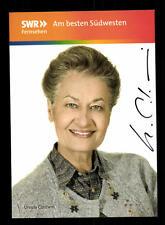 Ursula Cantieni Die Fallers Autogrammkarte Original Signiert# BC 98157
