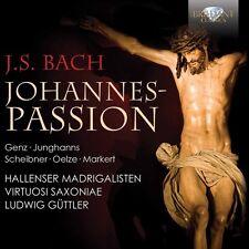 J.S. Bach / Hallenser Madrigalisten / Virtuosi Sax - St. John Passion [New CD]