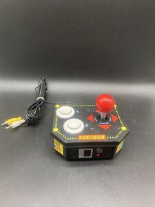 PAC-MAN *Plug & Play* 2009 JAKKS Pacific Retro Arcade *Tested* Fast Shipping!!!