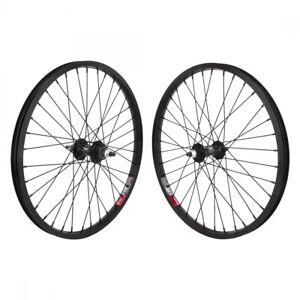 Wheel Master 20 in Alloy BMX Freewheel Wheelset with Weinmann 519 Alloy Rims