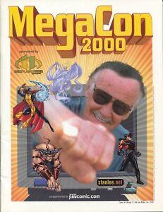 MegaCon Program Book 2000-Stan Lee cover-guest & artist bios-events-VF/NM