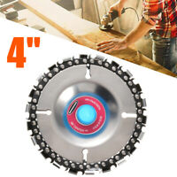"""4"""" inch Grinder Disc Alloy For Angle Grinder 22 Tooth Fine Chain Saw 100/115mm"""