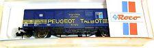 Couvert wagons gbsuv 254 DB peugeot talbot roco 25419 N 1:160 OVP hq3 å